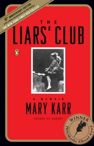 Book cover-The Liars' Club by Mary Karr